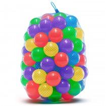 100 Palline Colorate in Plastica | Gioco per Bambini per Piscina, Castello Gonfiabile, Trampolino Elastico da Giardino | Accessori