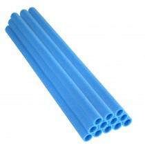 12 Tubi in Gommapiuma 84 x 2,54 cm   Schiuma, Spugna per Imbottitura e Protezione Pali di Trampolino Elastico   Blu