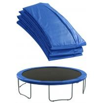Copertura Bordo di Protezione Extra   Copri Molle di Ricambio per Trampolino Elastico da 244 cm   Blu