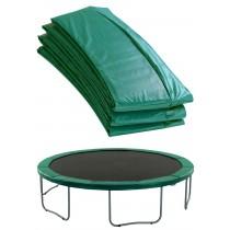 Copertura Bordo di Protezione | Copri Molle di Ricambio per Trampolino Elastico da 244 cm | Verde