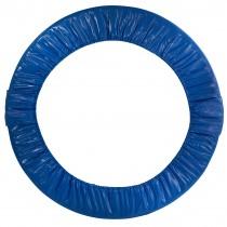 Copertura Bordo di Protezione Pieghevole, Ricambio Copri Molle per Mini Trampolino Elastico da 91,44 cm | Blu