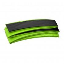 Copertura Bordo di Protezione | Copri Molle per Trampolino Elastico Rettangolare Upper Bounce 518 x 305 cm | Verde Nero