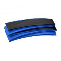 Copertura Bordo di Protezione | Copri Molle per Trampolino Elastico Rettangolare Upper Bounce 427 x 244 cm | Blu Nero
