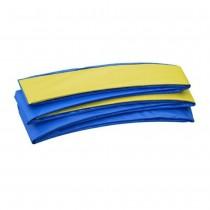 Copertura Bordo di Protezione | Copri Molle per Trampolino Elastico Rettangolare Upper Bounce 457 x 274 cm | Blu Giallo