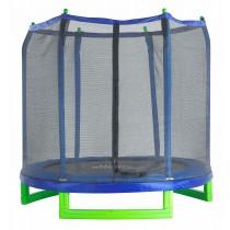 Trampolino Tappeto Elastico da Giardino e Esterno 213 cm   Completo di Rete di Sicurezza   Upper Bounce
